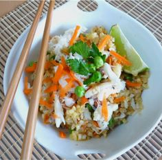 Fried rice is a terrific way to use left over steamed rice. You can make a little or a lot, add more veggies, use shrimp instead of crab, or add chicken or no meat at all. Sometimes I garnish with a little chopped cilantro and peanuts. Keep this easy rice dish in mind this summer [Read More]