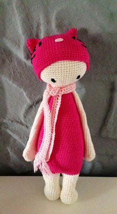kitty mod made by Doris Z. / based on a lalylala crochet pattern