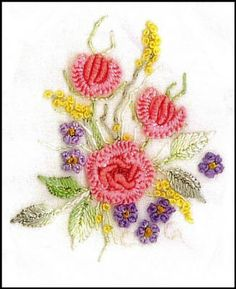** Free Designs & Educational Projects Provided By The Brazilian Dimensional Embroidery International Guild @bdeig