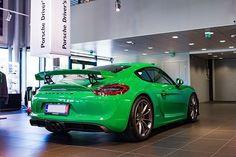 Green  #porsche #cayman #gt4 #caymangt4 #carporn #carsofinstagram