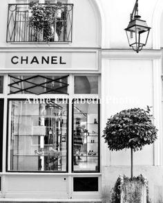 $25 Paris France -Coco Chanel Boutique- 8 x 10- Fine Art Photograph