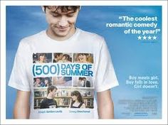 500 days of Summer - Boy meets girl, Boy falls in love, Girl doesn't Movie Poster Font, Movie Poster Template, Movie Posters For Sale, Disney Movie Posters, 500 Days Of Summer, Summer Boy, Home Disney Movie, Lizzie Mcguire Movie, Summer Poster