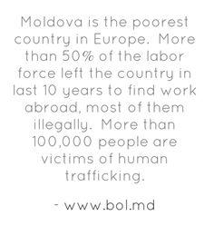 Human Trafficking in Moldova. Part 1.
