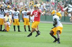 Packers hold first training camp practice
