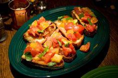 "Recipe: Tomato Bruschetta - original recipe from Susan Spungen, food stylist from ""Julie and Julia"" movie"