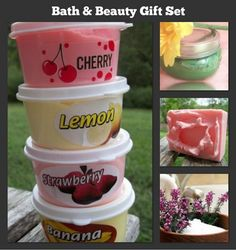 bath and body handmade gift set