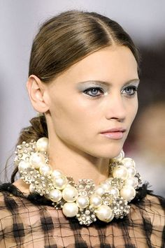 Eyeliner In Full Effect at Chanel - Best Spring 2013 Fashion Week Makeup Looks