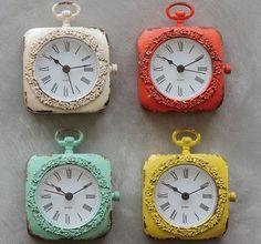 Pewter Clocks | Table Clocks