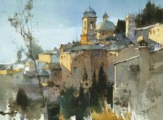 Chien Chung Wei's Watercolor Demo in Germany Watercolor Society.