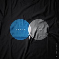 From Earth to Moon #Nasa #Moon #Apollo #1969 #Space