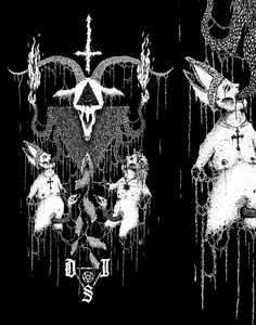"VBERKVLT | JUSTIN BARTLETT | WORK VAULT | Dragged into Sunlight ""Thee Goatlord"" Shirt"