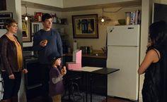 Ezra , Maggie (Ezra's ex girlfriend) , Malcolm (Ezra's son) , Aria