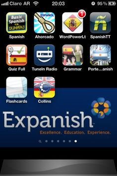 10 apps for Spanish learning #Spanish #Apps