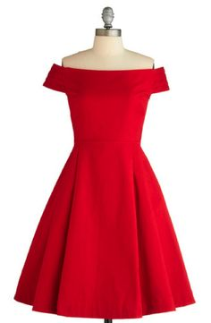 "Ahh the classic party dress. Red ""Kettle Corn"" Dress in Sunset by Emily and Fin. Pretty Dresses, Beautiful Dresses, Sparkly Dresses, Beautiful Flowers, Retro Vintage Dresses, 1960s Dresses, 50s Vintage, Vintage Clothing, Holiday Dresses"