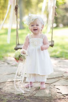'The Madeline' flower girl dress $150 photo credit: Ace Photography