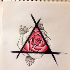 Loving this rose design by using their Chameleon Pens! Loving this rose design by using their Chameleon Pens! Cool Art Drawings, Pencil Art Drawings, Art Drawings Sketches, Colorful Drawings, Easy Drawings, Drawing Ideas, Colorful Tattoos, Sketch Ideas, Arte 8 Bits
