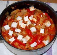 Kreikkalainen kasvispata Vegetarian Recepies, Vegan Vegetarian, Meatless Recipes, Tasty, Yummy Food, Yummy Recipes, Vegan Foods, Food Inspiration, Feta