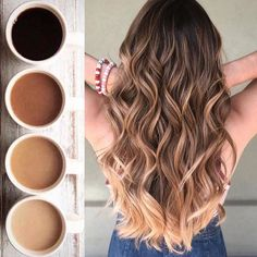 Amazing Balayage color for coffee lovers in 2019 - color . Amazing Balayage color for Brown Hair Balayage, Brown Ombre Hair, Hair Color Balayage, Brown Hair Colors, Hair Highlights, Haircolor, In Style Hair Colors, Balayage Hair Brunette Caramel, Ombre Hair Color For Brunettes