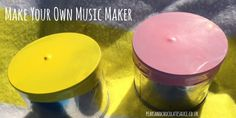 Have some fun exploring how to create and change sounds with this fun music maker craft! You will need: * Two small containers (we used empty baked bean cans) * Two balloons * Dried food such as corn, rice or pasta * Scissors * Sticky tape Any guesses what we're making today? A post shared …