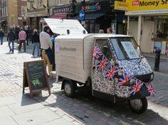 Braithwaites - The English Cream Tea Co. A Truck that serves fresh scones, clotted cream, strawberry jam, and tea! Must find it!
