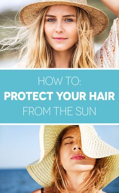 Even if it doesn't technically burn, UV rays break down your hair cuticle, leaving your strands dry, damaged, and frizzy. Click through to find out how to protect your strands.