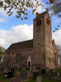 De Kerk van Rinsumageest. Friesland The Netherlands