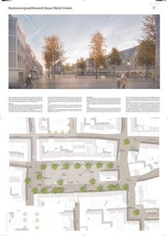 Kilian Frenz (2016): Umgestaltung des Neuen Marktes und angrenzender Bereiche der Innenstadt, Emden (DE), via competitionline.com