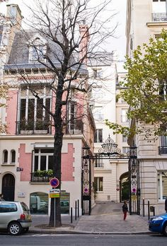 You don't think Paris can get any prettier and then you see pink buildings like this.