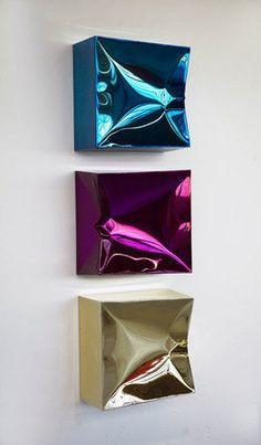 Lori Hersberger - 11 Artworks, Bio & Shows on Artsy Abstract Sculpture, Sculpture Art, Modern Art, Contemporary Art, Deco Paint, Art For Art Sake, Texture Art, Art Techniques, Metal Art