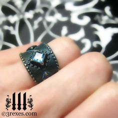 3 Rexes Jewelry - 3 Wishes Medieval Brass Ring , $78.00 (http://www.3rexes.com/3-wishes-medieval-brass-ring/) #medieval