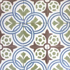 Cement tiles | Online shop | Mosaic del available surface: 1.8 m²ref: 10184colours: BA, LC, CH, V2description: Pattern 20x20 cmlot/batch n°: 20656