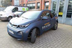 BMW I3 - 3M Matt Dark Navy | Nato Oliv Car Wrapping Bmw I3, Car Wrap, Dark Navy, Wraps, Wrapping, Rolls, Rap, Gift Packaging, Packaging