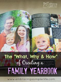 In this day of modern technology, it's all too easy to leave pictures buried in computer files and rarely enjoyed. The modern solution for many of us is not 4 x 6 prints and old-style photo albums, but rather, fun, customized photo books. Each year, my family and I do this in the form of a … Read more...