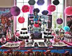 fiestas infantiles monster high - Buscar con Google