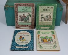 Vintage I Can Read Books Little Bear Series by 13thStreetEmporium, $16.00