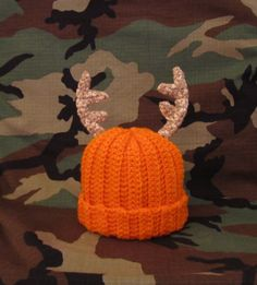 Daddy's Little Deer Hunter Crochet Blaze by inspired3crochet, $20.00