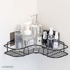 Checkout this latest Utensil Holders & Organizers Product Name: *The Flying Kart Metal Wall Mount Corner Storage Rack Kitchen Rack Bath Shelf Wall Rack ( Pack of 1 Black )* Material: Stainless Steel Pack Of: Pack Of 1 Country of Origin: India Easy Returns Available In Case Of Any Issue   Catalog Rating: ★4 (1464)  Catalog Name: Fancy Racks & Holders CatalogID_4548658 C130-SC1640 Code: 823-21524583-994