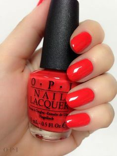My Paprika Is Hotter Than Yours! OPI ... great pedicure color!!