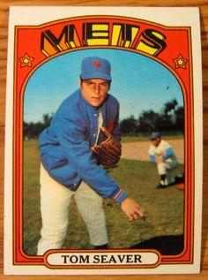 1972 Topps Tom Seaver 445   eBay #sportsmemorabilia #worldserieschampions…