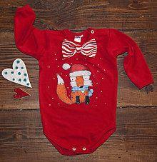 Detské oblečenie - Luksusná vjanočňja kolekcija - Body - 7548564_
