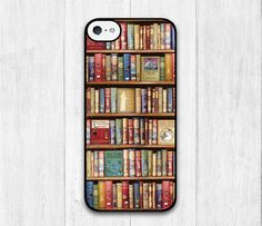 Bookshelf iPhone 5C case Book Lover iphone 5C hard by iCaseBeauty, $6.99