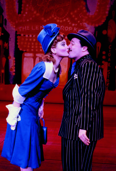 Faith Prince and Nathan Lane in Guys and Dolls - saw these two on Broadway with my Dad!!  What a great pic!