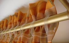 Побывала на мастер-классе декора окон. Делюсь красивейшими способами подвешивания штор на карниз! | TutVse.Info