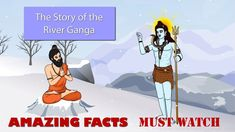 This is a tale about the Indian holy river of Gnaga. Stories For Kids, Fun Facts, River, Indian, Stories For Children, Funny Facts, Rivers