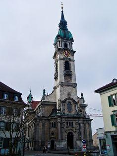 Niklaus in Frauenfeld, Kanton Thurgau Switzerland European Countries, Place Of Worship, Throughout The World, Kirchen, Jerusalem, Hiking Trails, Alps, Switzerland, Spaces