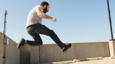 'Bad Parkour', A Funny Video Showing Craig Benzin Performing Extremely Simple Parkour Stunts Around Town