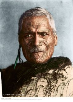 Maori Chief, Rueti Watea (1912) #Maoritattoos