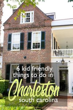 6 Kid-Friendly Things to Do in Charleston, South Carolina | family friendly travel destinations | Charleston with kids | what to do in Charleston with children | Charleston plantations | downtown Charleston | historic Charleston, South Carolina #TravelDestinationsUsaSpring