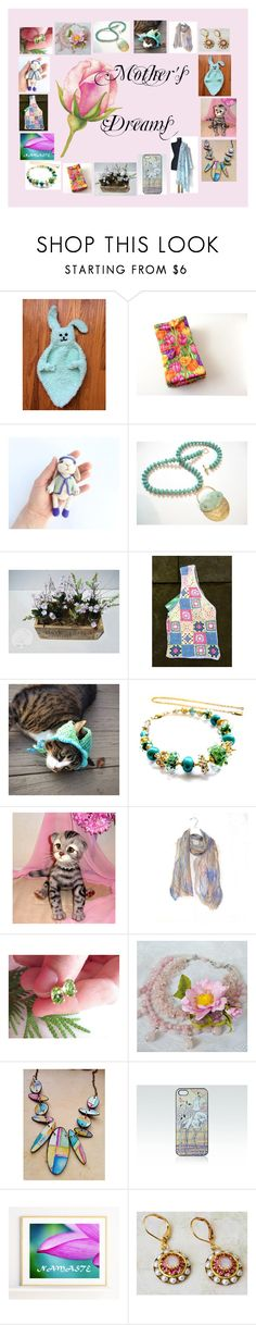 """Mother's Dreams: Handmade Gifts for Mom"" by paulinemcewen ❤ liked on Polyvore featuring Hostess and rustic"