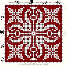 ru / Фото - Le Filet Ancien V - gabbach Bead Crochet Rope, Crochet Cross, Crochet Chart, Filet Crochet, Biscornu Cross Stitch, Cross Stitch Tree, Knitting Charts, Knitting Stitches, Cross Stitch Designs